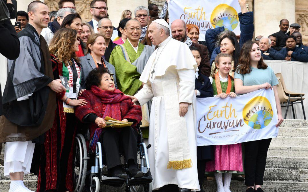 ローマ法王との平和の祈り